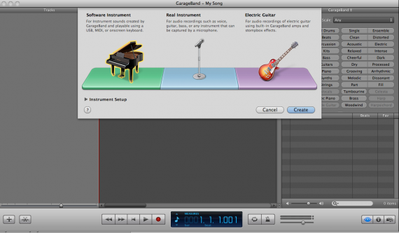 Simple Loops: How To Set Up A Click Track Using Garageband