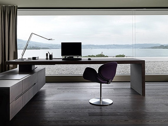 Picturesque-Minimalist-Home-Desk-Cabinet-Compact-Setup-with-Spacious-Beach-Sceneric-View