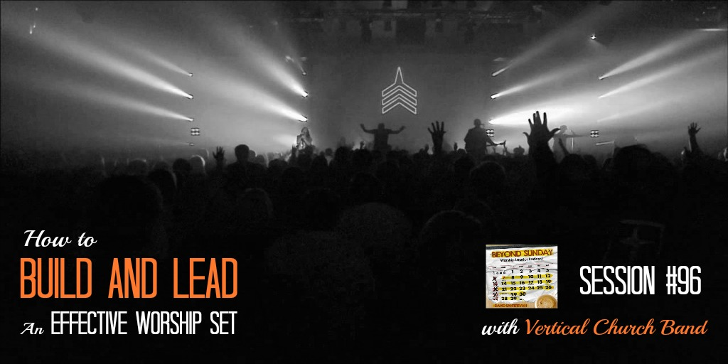 how to build a worship set